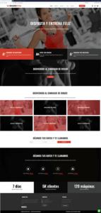 Proyecto WordPress Gimnasio